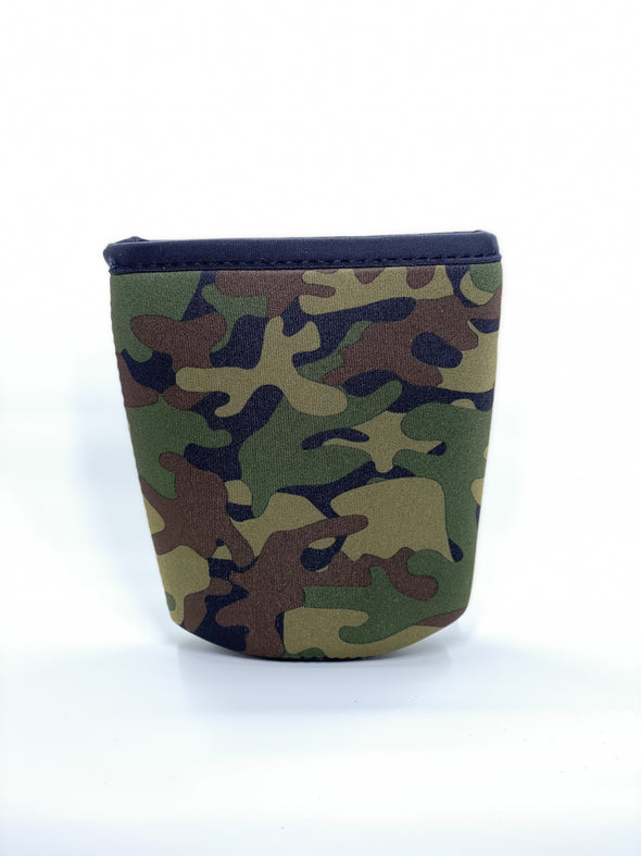 Medium Camo Java Sok Iced Coffee Sleeve