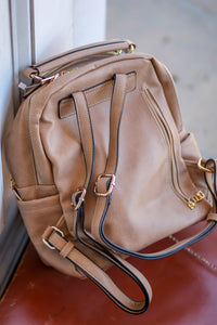 Side Pocket Backpack