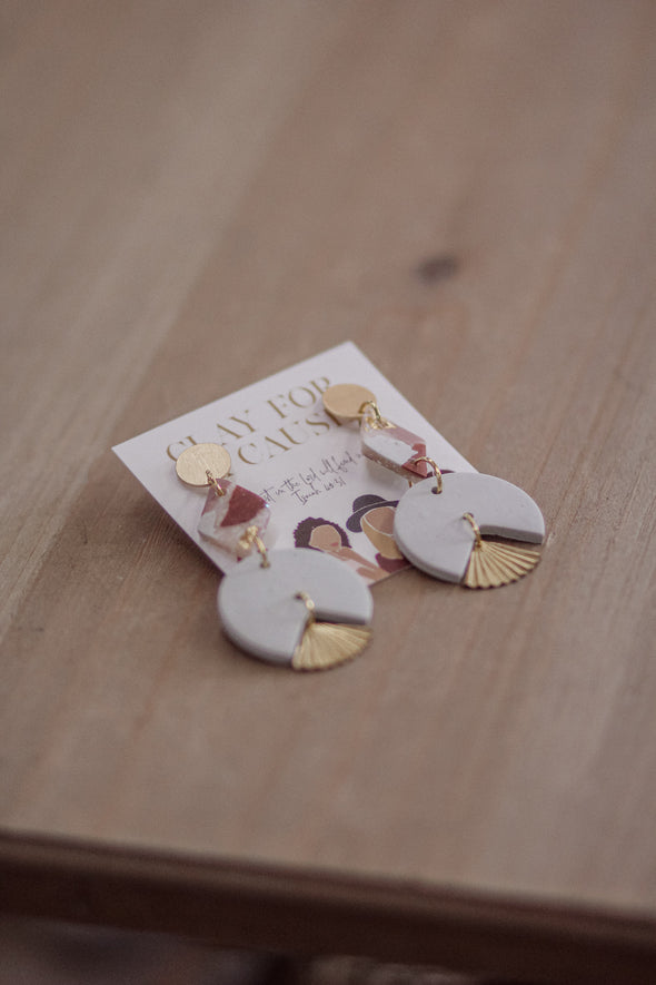 The Lola Clay For A Cause Earrings