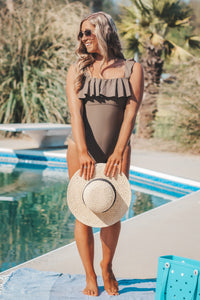 The Coconut One Piece Swimsuit