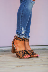The Leopard Block Heel