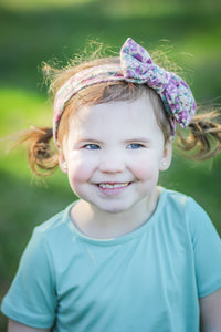Floral Toddler Turban