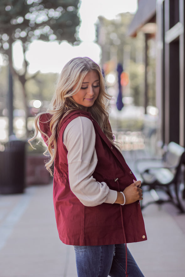 The Autumn Utility Vest in Several Colors