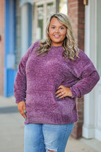 Chenille Round Neck Sweater in Many Colors