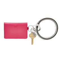 Oventure Tickled Pink Leather ID Case