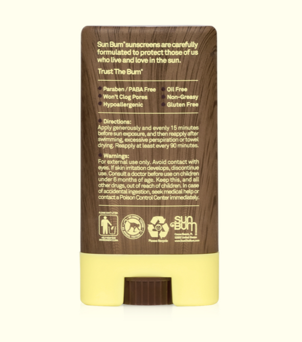 Sun Bum Original SPF 30 Sunscreen Face Stick