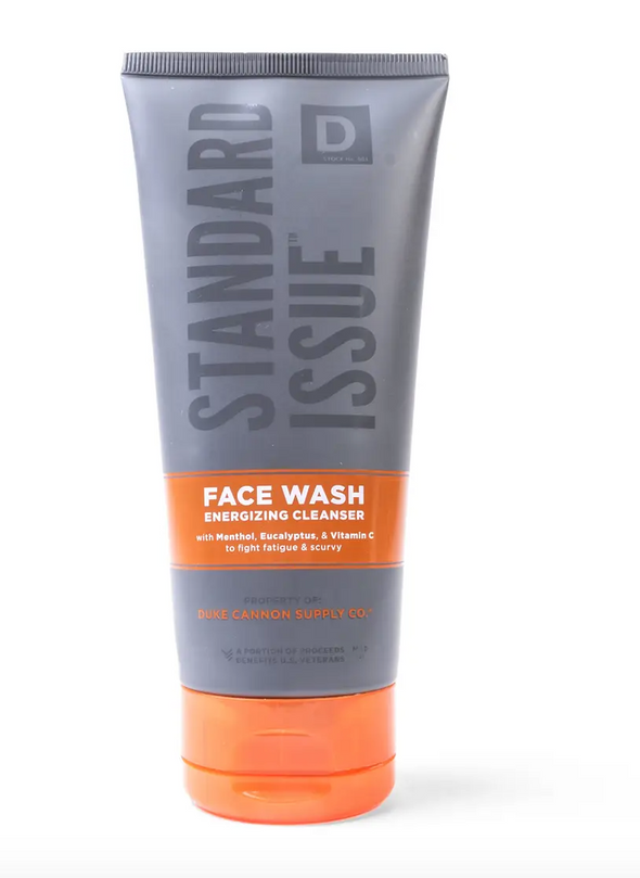 Duke Cannon Standard Issue Energizing Face Wash