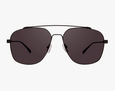 Diff Atlas Black With Grey Lens Sunglasses