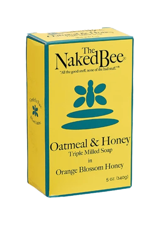 The Naked Bee Orange Blossom Honey Bar Soap 5oz