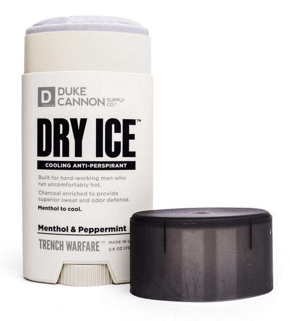 Duke Cannon Dry Ice Cooling Peppermint & Menthol Deodorant