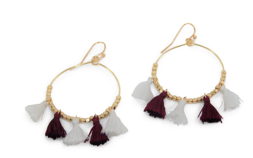 Erimish Ron Gameday Earrings