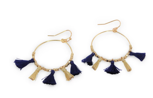 Erimish Aaron Gameday Earrings