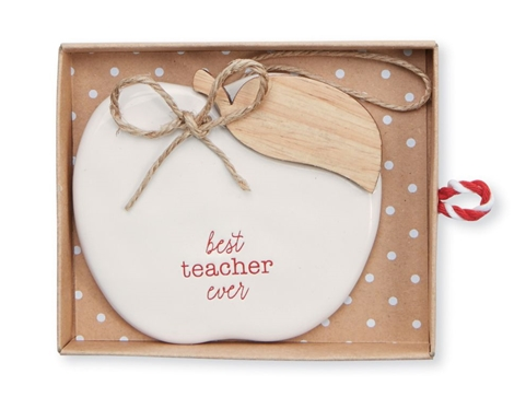 Best Teacher Ceramic Ornament