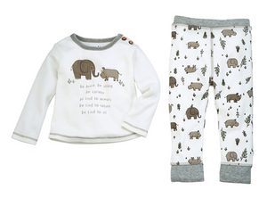 Be Kind Two Piece Outfit for Baby Boys