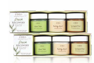 Farmhouse Fresh Quick Recovery Face Mask Sampler Set