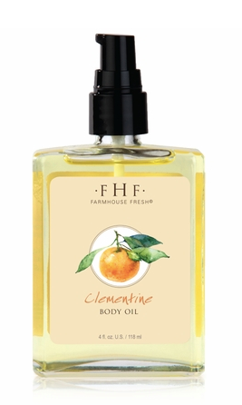 Farmhouse Fresh Clementine Body Oil 4oz