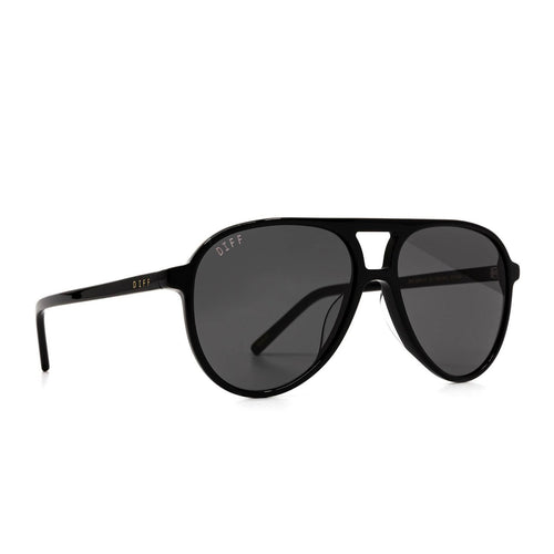 Diff Tosca Black Sunglasses