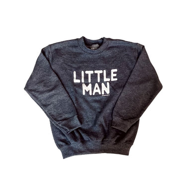 Little Man Youth Graphic Pullover