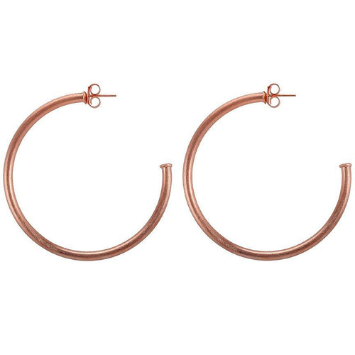 Sheila Fajl Everybody's Favorite Hoops Rose Gold