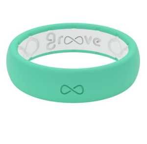 Groove Life Think Solid Seafoam Women's Ring