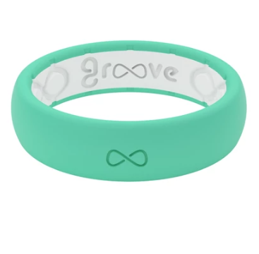 Groove Life Thin Solid Seafoam Women's Ring