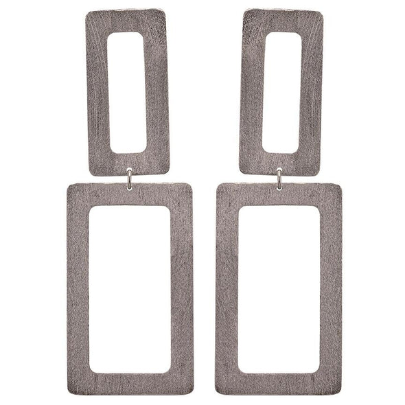 Sheila Fajl Rectangle Dangle Earrings in Several Colors
