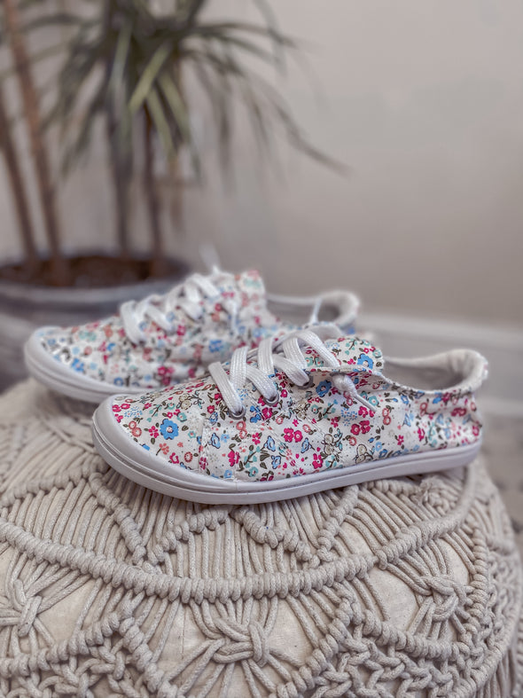 The Lucy Floral Slip on Sneaker