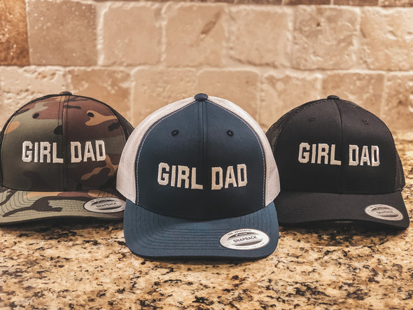 Girl Dad Hat in Many Colors