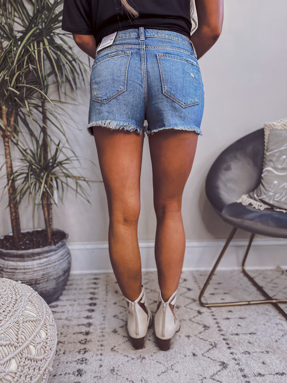 The Maggie Shorts in Medium Wash