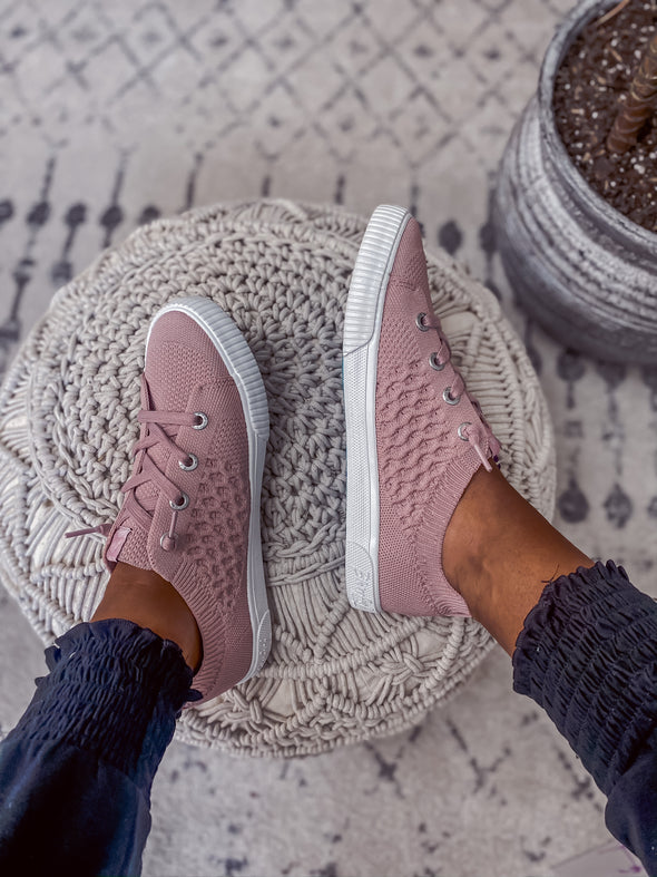 Blowfish Dusty Pink Flyknit Free Spirit