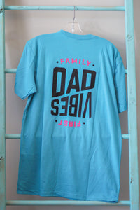 Family First Dad Life Blue Shirt
