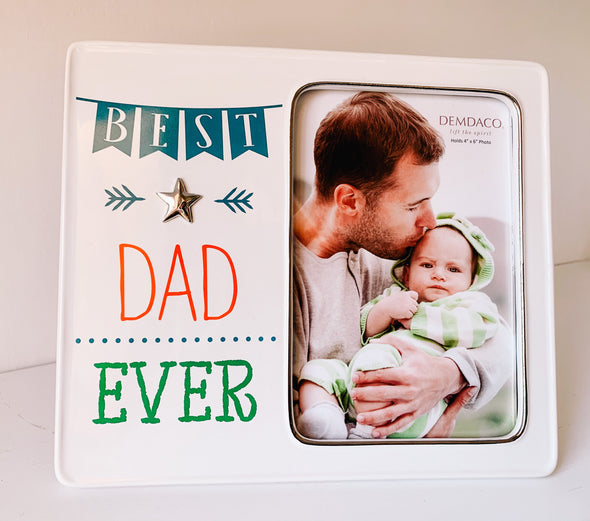 Best Dad Ever Picture Frame