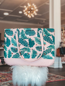Blush Palm Bogg Bag in Original and Baby