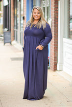 Solid Maxi Dress in Many Colors and Sizes Small-3X
