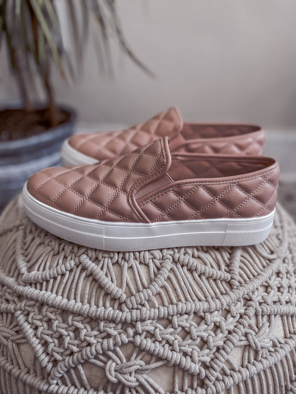 The Dena Sneaker in Blush