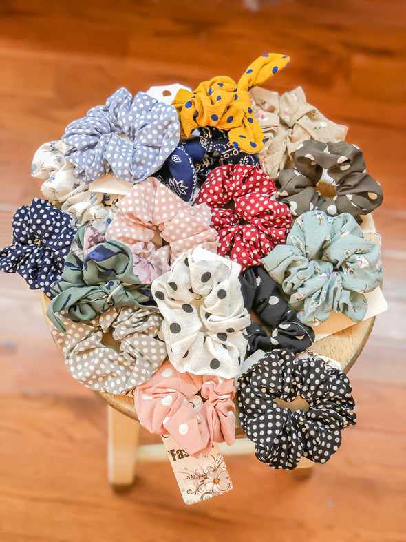Hair Scrunchies in many colors
