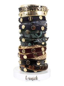 Erimish leather wrap