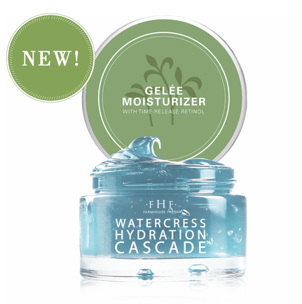 Farmhouse Fresh Watercress Hydration Cascade Gelee Moisturizer 1.7oz