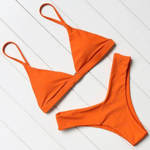 GINA Push Up Bikini | Orange-Lovella Bikini