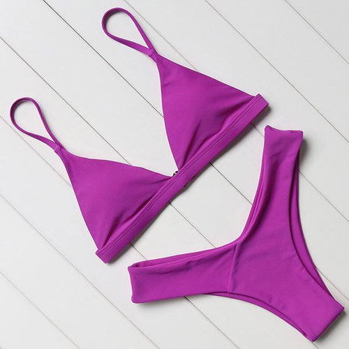 GINA Push Up Bikini | Purple-Lovella Bikini