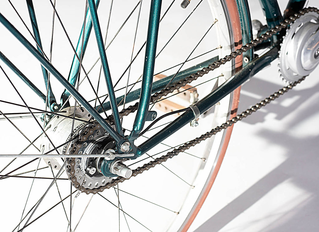 Bicicleta  Green Queen 8v Rotary