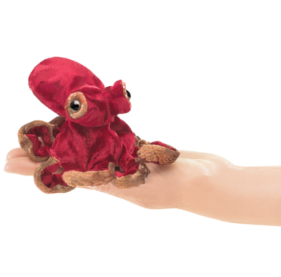 octopus finger puppet (NEW)
