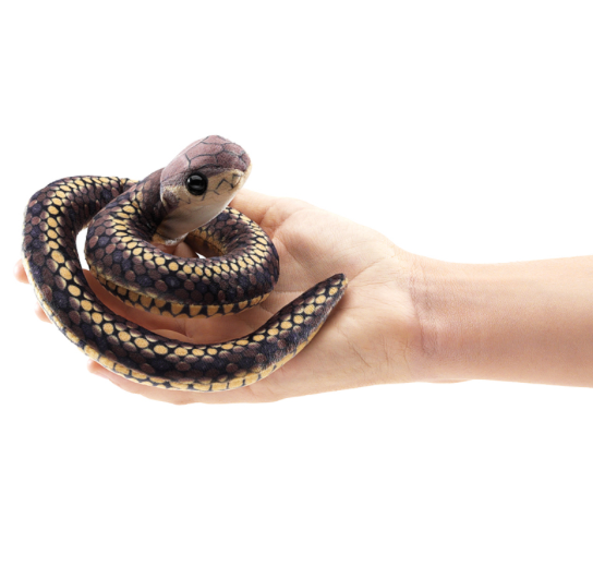 snake finger puppet (NEW) - big little noise