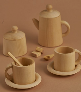 tea set ~ natural