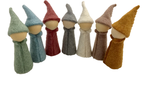 earth ~ gnomes (7 pieces)