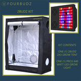 2BUDZ LED GROW KIT [2X3 TENT]