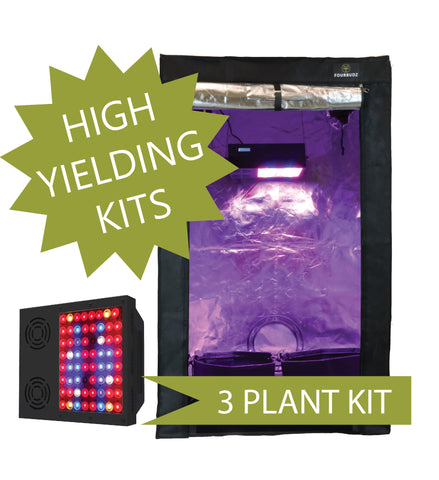 3BUDZ LED GROW KIT [2X4 TENT]