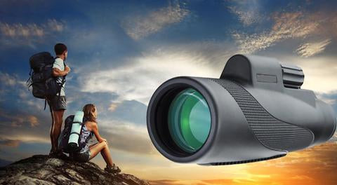 Waterproof high definition monocular telescope suitable for all