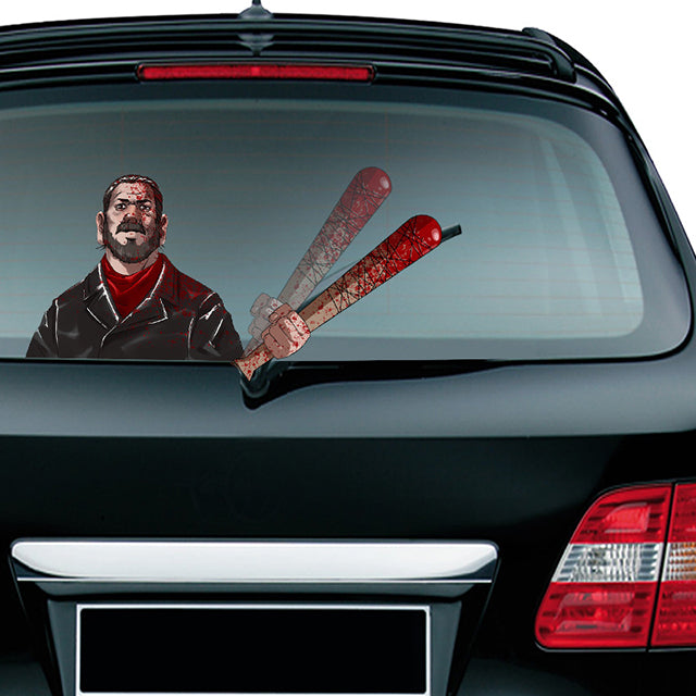 (Last Day 60% OFF)Waving Arm Halloween Christmas Wiper Decal