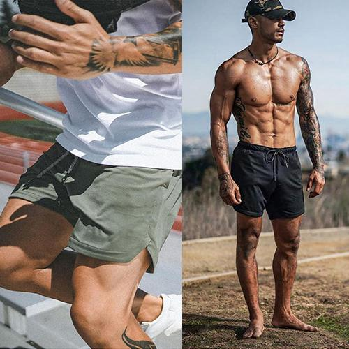50% OFF-(HOT PROMOTIONS) 2-in-1 Secure Pocket Shorts(Buy 2 Free Shipping)